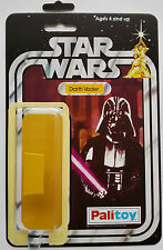 PALITOY DARTH VADER ON 12 BACK STAR WARS RESTORATION KIT SELF ADHESIVE BUBBLE