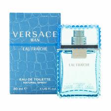 Versace Eau Fraiche M 1.0oz EDT Spray New in Box Sealed