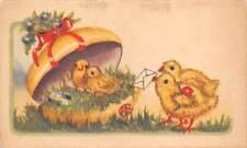 B28533 chicks easter holiday lilliput romania 8x5cm