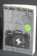 Rollei Rolleiflex Sl35M In Practical Use Camera Instruction / Manual / Guide #2