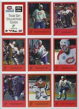 1993-94 Fredericton Canadiens (AHL) near complete team set (missing 1 card)