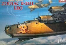 ACADEMY 1:72 KIT AEREO ZODIAC B 24H LEO CON POSTER EDIZIONE LIMITATA ART 2172