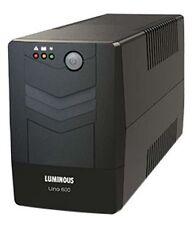 LUMINOUS UNO 600VA UPS for Desktop with Bill & 2 Years Warranty