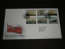 2013 GB Stamps MERCHANT NAVY First Day Cover TALLENTS HOUSE Cancels FDC