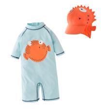 New Kids Boys Swimsuit UV 50+ Sun safe Bathing Surf Swimming Costume 2pcs