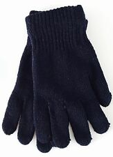 Winter GLOVES Mens Blue THERMAL one size, UK Seller NEW Tagged