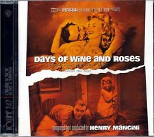 "Henry Mancini ""DAYS OF WINE AND ROSES"" score Intrada Limited CD sold out"