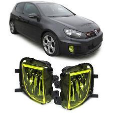 Klarglas Nebelscheinwerfer Gelb für VW Golf VI 6 GTI GTD
