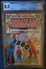SHAZAM #1 1973 CGC 7.5 OFF WHITE Pages DC Comics 1st Appearance CAPTAIN MARVEL