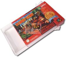 ☆ ☆ Super Nintendo Box Protectors: 10x  SNES Schutzhülle Game Protector  ! ☆ ☆