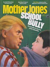 Mother Jones March / April 2017 Donald Trump Cover - School Bully - The GOP Plan