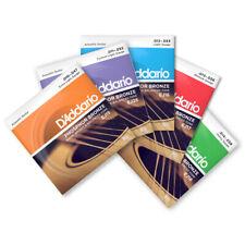 D'Addario acoustic Phosphor Bronze guitar strings 10's 11's 12' 13's 14's