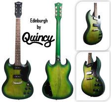 Matt GREEN Edinburgh by Quincy SG Junior style 6 String ELECTRIC GUITAR P90 JNR