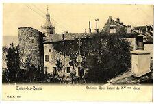 CPA 74 Haute-Savoie Evian-Les-Bains Ancienne Tour datant du XVème