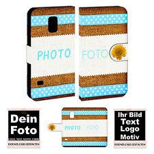 Schutzhülle Handy Tasche für Samsung Galaxy S5 mini mit Bild Namen Druck