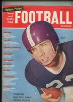 Street & Smith's Football Yearbook 1956 Cover Jim Swink T.C.U.   MBX100