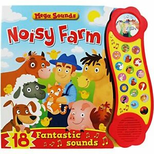 Noisy Farm (Mega Sounds) by Igloo Publications Book The Cheap Fast Free Post