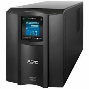 APC SMART UPS C1500 LCD Screen battery uninterruptible power backup PC server