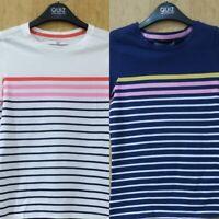 NEW RRP£14.00 Ex M&S Kids 2 part set navy mix stripe t shirt               (U39)