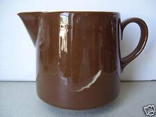 Vintage Dark Brown creamer Made In Usa