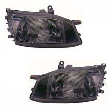 Toyota Hi-Ace Mk3 Van 1996-2006 Halogen Headlights Headlamps 1 Pair O/S & N/S
