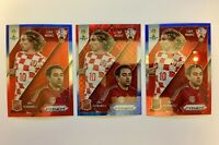 2014 Prizm World Cup Matchups Blue & Red Wave Luka Modric Xavi Hernandez LOT
