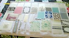 BUNDLE OF EMBOSSING FOLDERS  - CRAFT CLEAROUT