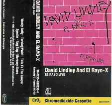 David Lindley-El Rayo X, Live/musikcassette, Tape, 83er WB, No.: 96-0235-4/c