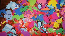 foam shapes scrapbooking mixed lot of 50 random all sorts, card making, crafts