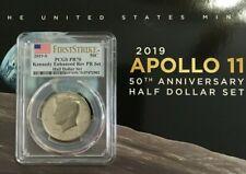 2019-S Apollo 11 50th Anniversary Rev Proof PR70 FIRSTSTRIKE