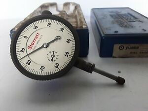 "STARRETT No.25-441 Dial Indicator .001"" Made in USA"