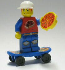 Boy//Girl Minifigure Skate Board Toy NEW Lego City Lot//2 Minifig BLUE SKATEBOARD