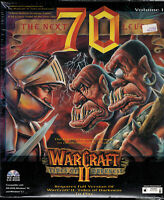 PC Big Box CD-ROM Game The Next 70 Levels for Warcraft II 1996 Maverick NIB NOS