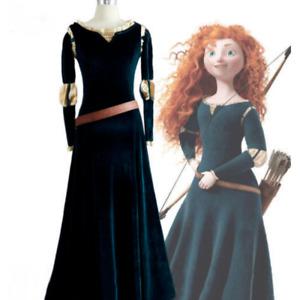 Disney Brave Princess Merida costume dress costume cosplay#