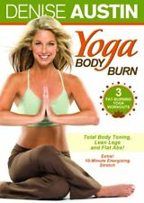 DENISE AUSTIN YOGA BODY BURN New Sealed DVD