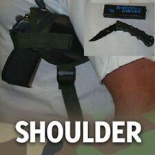 SHOULDER GUN HOLSTER, GLOCK 23, CAMO COLOR   SECURITY W/ FREE FOLDING KNIFE,207C