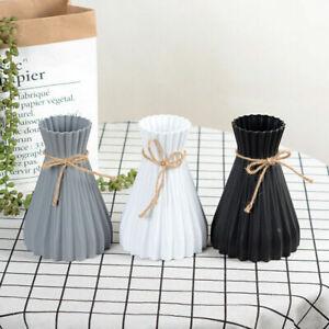 Plastic Vase Anti Ceramic Flower Vases Wedding Modern Home Decoration
