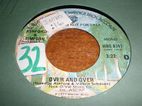 Ashford & Simpson 45 Over and Over WARNER PROMO