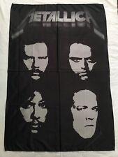 METALLICA - Metallica. Black album FLAG Heavy thrash death METAL cloth poster