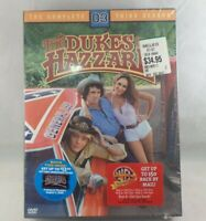 THE DUKES OF HAZZARD The Complete Third Season DVD New Sealed