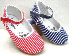 Girls Canvas Medium Width Baby Sandals