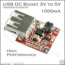 DC DC Converter Step Up Boost Module 3V To 5V 1A 1000mA USB Charger Module