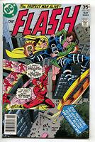 Flash 261 1st Series DC 1978 NM- Ringmaster Golden Glider Al Milgrom