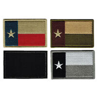 TEXAS TX STATE FLAG USA ARMY MORALE MILITARY BADGE SWAT HOOK PATCH