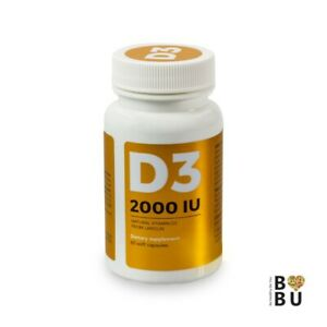 D3 2000 IU - 60 soft capsules - VISANTO J. ZIEBA - natural from lanolin