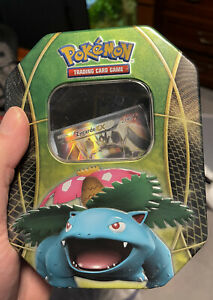 Pokemon Tins 2016 Trading Cards - Sealed -  Featuring Venusaur Collector Tin
