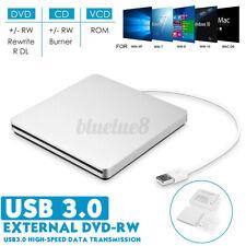 USB 3.0 Extern Slim Laufwerk CD-RW DVD Brenner Splitter für pcLaptop Notebook DE