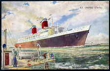 J Salmon Collectable Sea Transportation Postcards