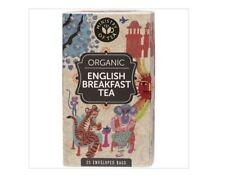 4 x 25 Tea bags MINISTRY OF TEA Organic English Breakfast Tea (100 tbags)