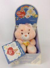 "New Vintage 1983 French Version Kenner Care Bear 13"" FRIEND Bear Plush Stuffed"